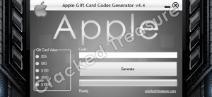 Free Apple Gift Card Codes Generator