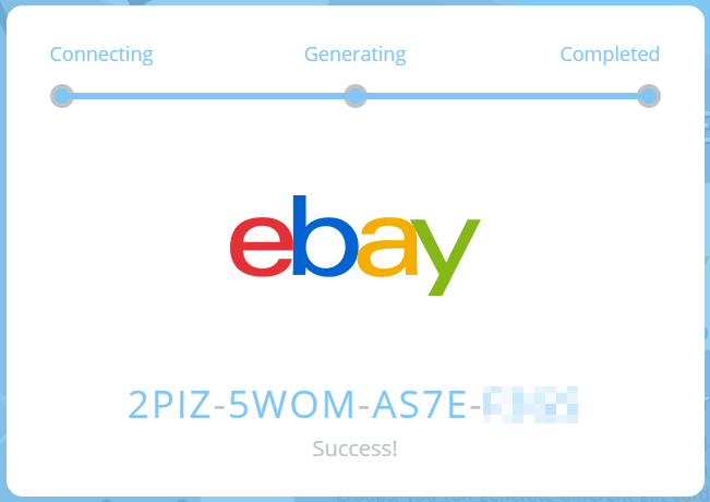 free ebay gift card code gift card codes for ebay active wholesale 1050