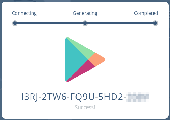 Google play store coupon codes