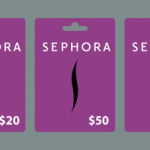 #1: Free Sephora Gift Card from Survey Junkie! You can get a Free Sephora Gift Card from points you earn taking surveys with Survey Junkie! They've even got an easy earnings wheel to track your progress! I'm personally a member of Survey Junkie, and it's such a fun way to score Free Sephora Gift Cards!