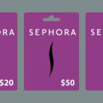Free Sephora Gift Card